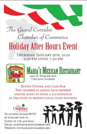 Holiday After Hours Member Event<br/> @ Maria's Mexican Restaurant